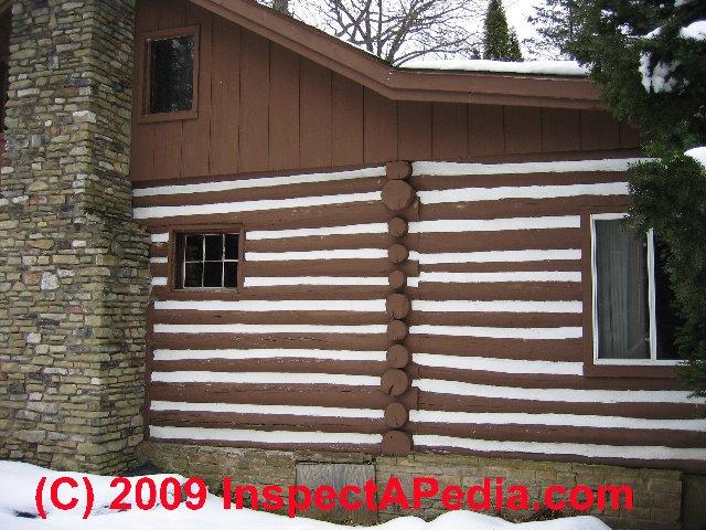 Log Home Sealants Chinking Caulks Coatings For Log Homes