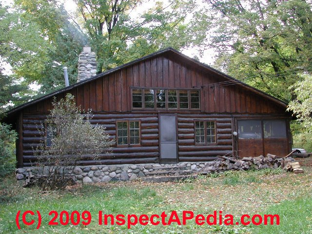 Siding repairs log home siding repair for Log siding for houses