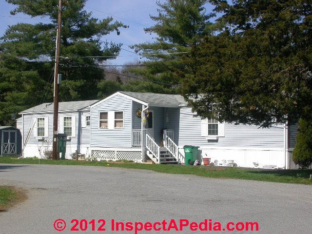 Modern Mobile Home Or Doublewide In Good Condition C Daniel Friedman