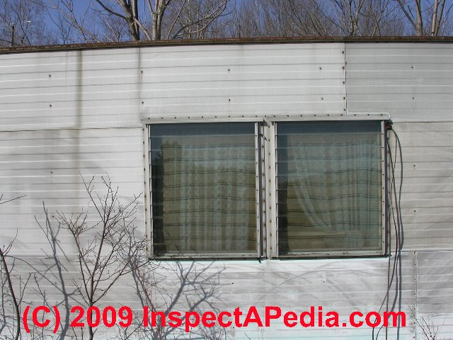 Trailer House Windows