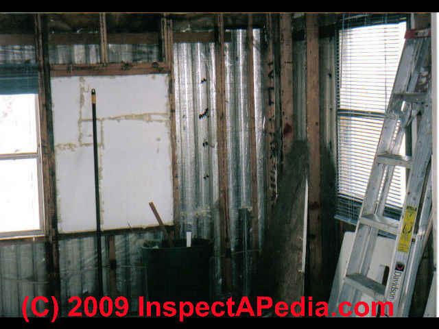 Mobile home interior defect inspection guide how to Mobile home interior walls