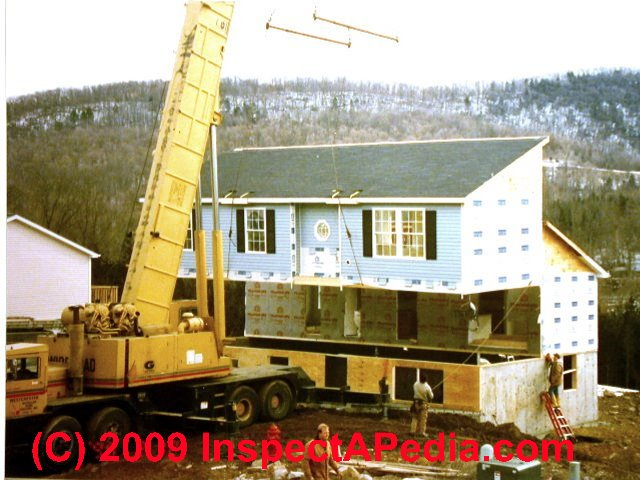 photo guide to modular home construction identification inspection