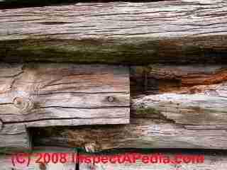 Antique Log Home Guide Log Home Inspection Diagnosis