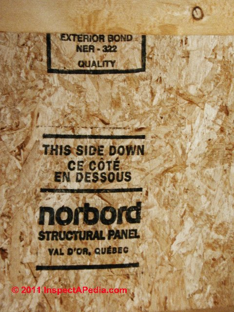 Osb Oriented Strand Board Sheathing Definition Properties