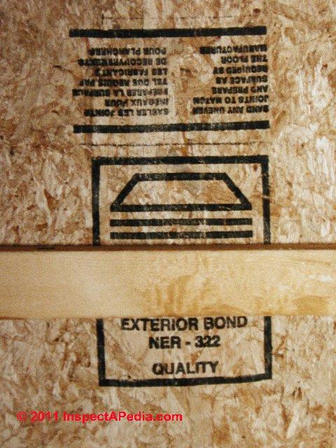 Osb Oriented Strand Board Sheathing Definition Amp Properties