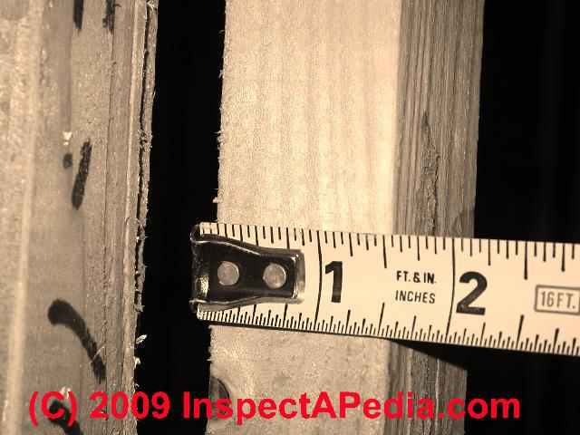 Interior Wall Stud In Panelized Home C Danie Friedman