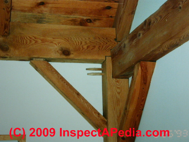 Building framing size spacing a home inspection guide for Post beam construction