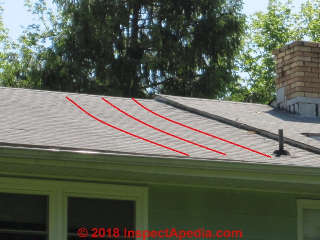 Causes Of Sagging Rafters Leaning Walls Collapsing Roofs