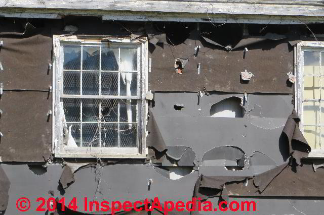 Exterior Gypsum Board ~ Framing sheathing materials a photo guide to types
