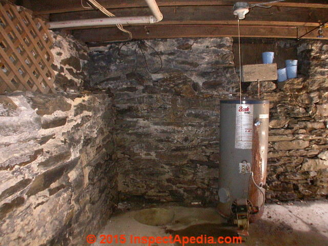 Stone Foundations Amp Walls How To Recognize Amp Diagnose