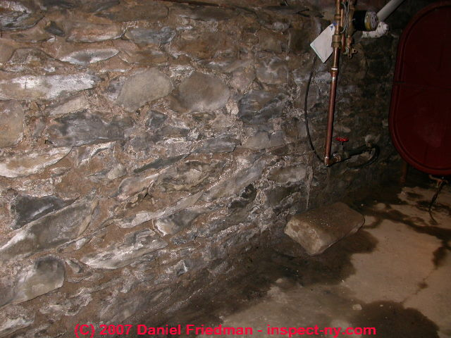 Stone Foundations Walls How To Recognize Diagnose