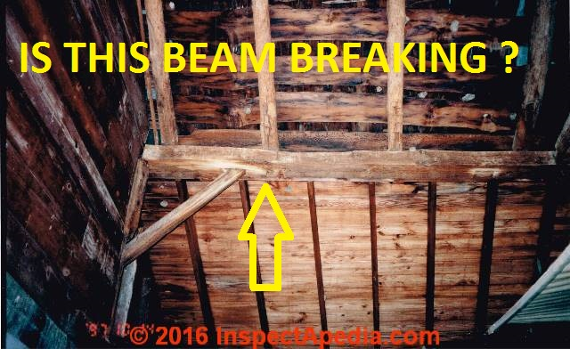 Evaluate Cracks Amp Splits In Wood Beams Or Posts Or In Log