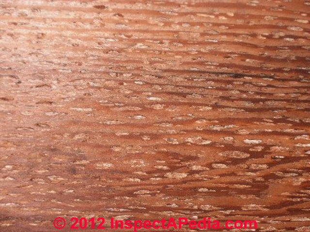 to determine the type of wood You could take one of the drawers into a building supply like home depot and try to match the wood characteristics with some of their lumber or ask them to identify it.