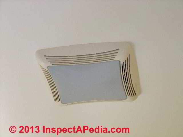 Bathroom Vent Exhaust Fan Size Requirements & Noise Levels