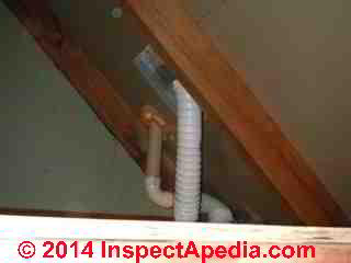 Routing A Bath Vent Duct Down Amp Out Or Up Through An Attic