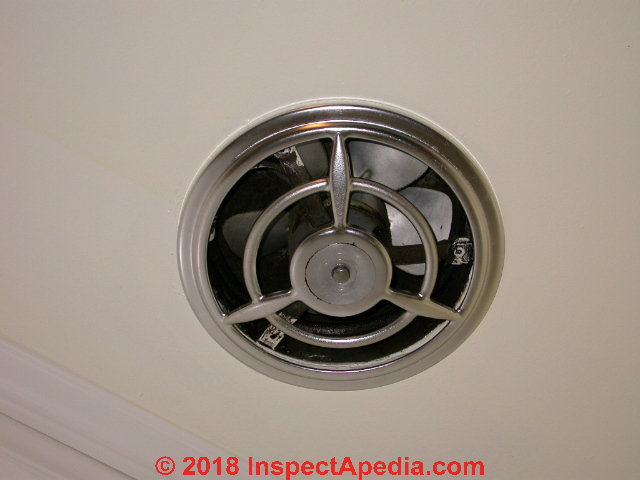 High Cfm Through Wall Kitchen Exhaust Vent Fan C Daniel Friedman At Inspectapedia