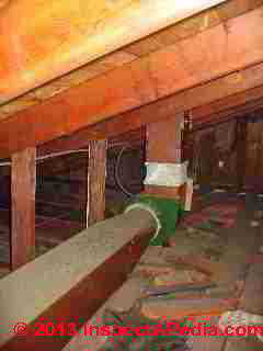 Bathroom Kitchen Vent Fan Share Common Exhaust Duct