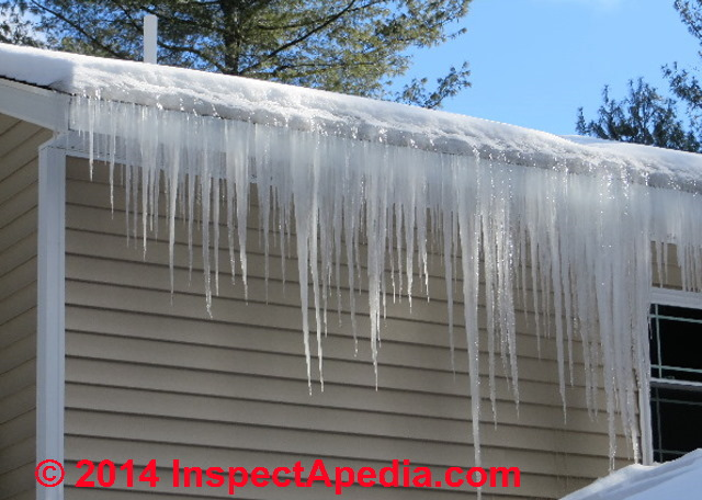 Roof Ice Dam Leak Diagnosis To Fix An Annoying Roof Leak