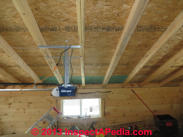garage ceiling insulation ideas - Blocked Soffit Intake Venting as a Factor in Attic