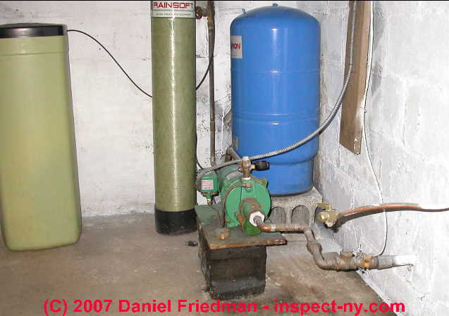 Water Pump keeps on running - pump can't reach shutoff pressure