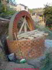 Building an Arch Over a dug well (C) D Friedman A Starkman