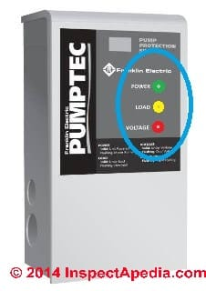 PumpTec well pump control from Franklin Electric, www.franklin-electric.com