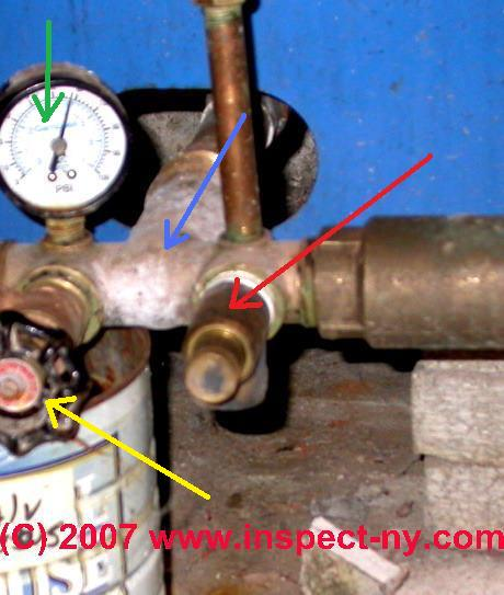 Water tank pressure relief valve how to find buy install photograph of a water tank pressure relief valve ccuart Images