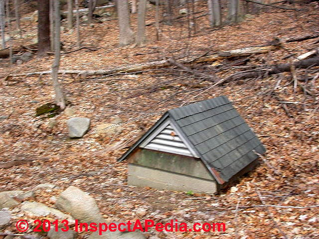 Spring Protection Boxes Or Structures For Drinking Water