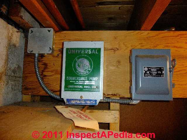 Water pump protection switches controls prevent pump for Pump motor repair near me