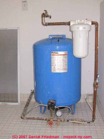 Water Storage Amp Pressure Tanks Purpose Diagnosis Repair