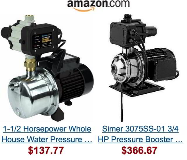 Marvelous Water Pressure Booster Pump Without Water Tank At Amazon