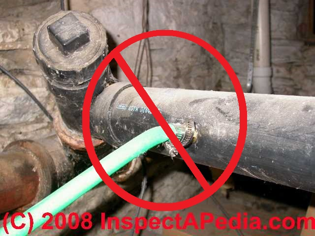 Abs black plastic pipe in buildings properties uses for Types of plastic water pipe