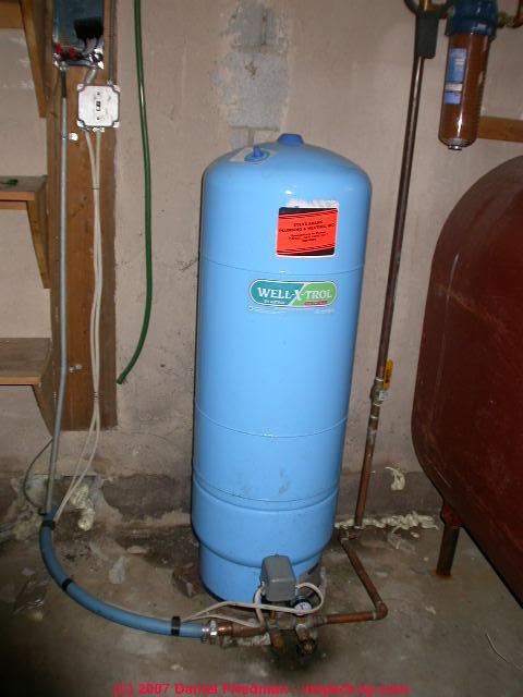 Water Storage Amp Pressure Tanks Purpose Diagnosis Repair